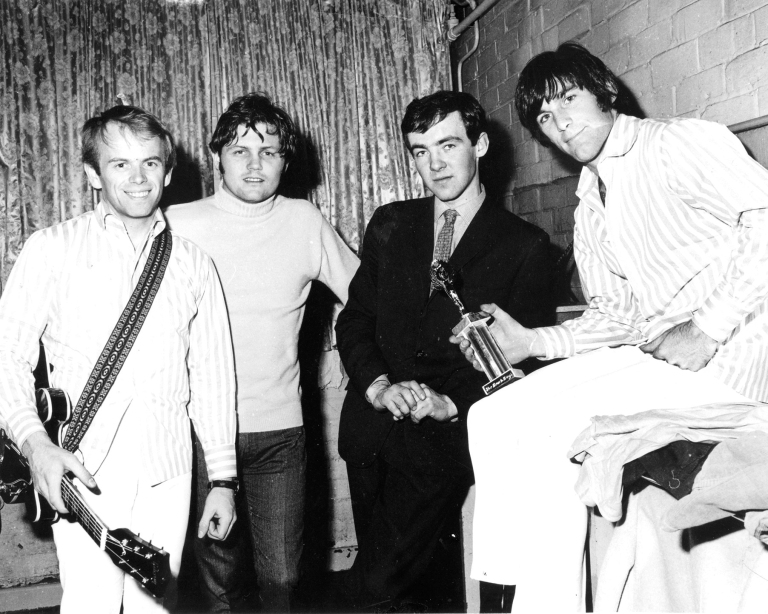 John Coughlan with The Beach Boys